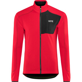 GORE WEAR C5 Thermo Trail Jersey Herre red/black